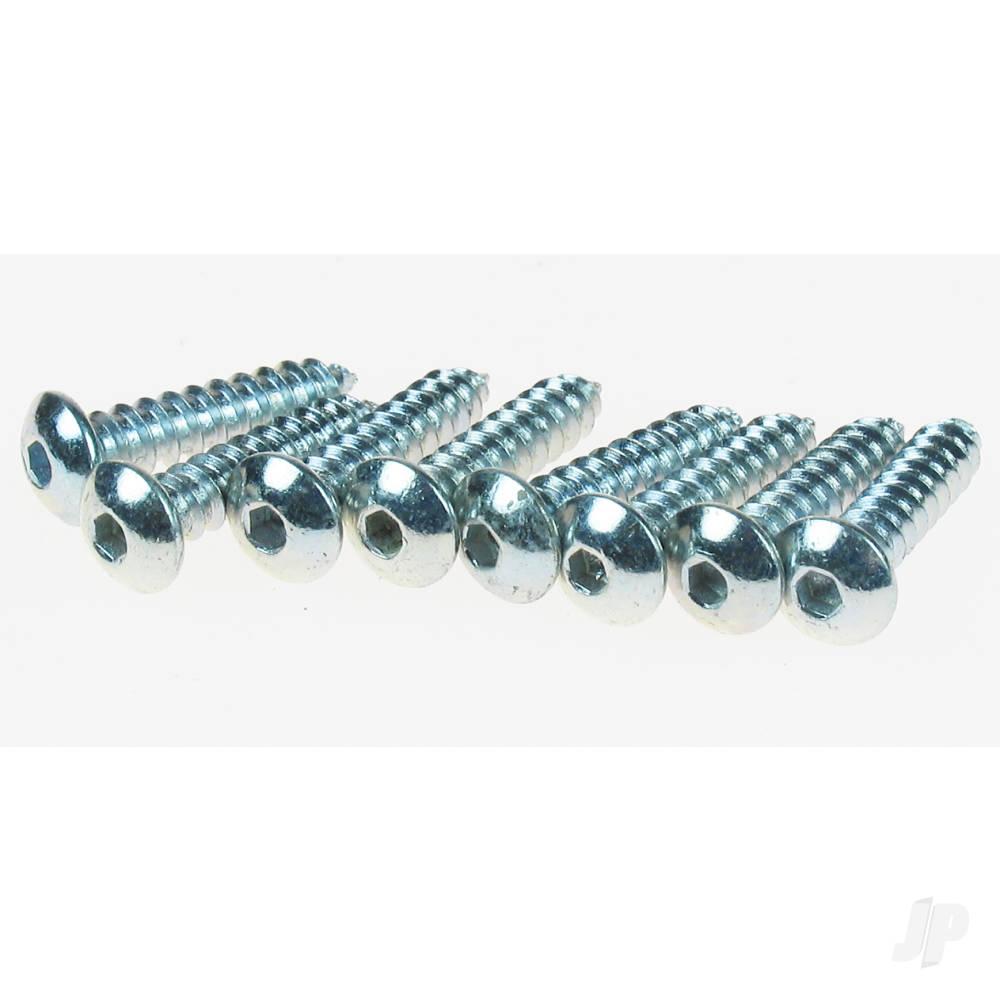 4x1/2 Button Head Screw (8pcs)