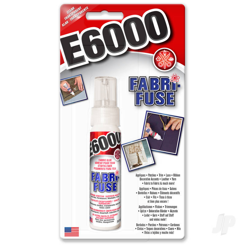 E6000 Fabri-Fuse Clear 59.1ml (Carded)