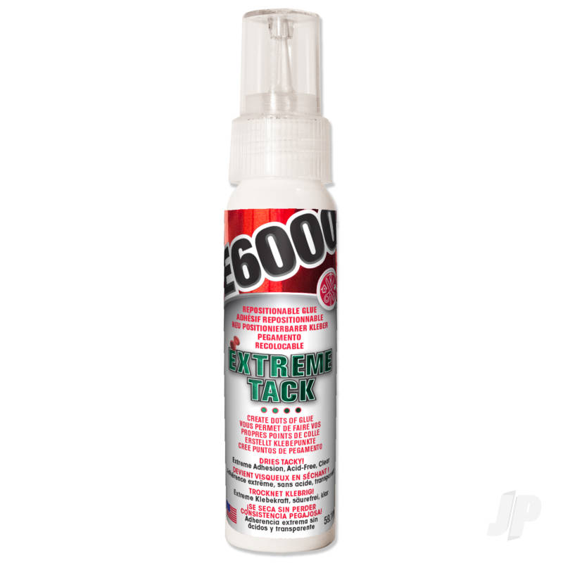 E6000 Extreme Tack Clear 59.1ml (Bottle)
