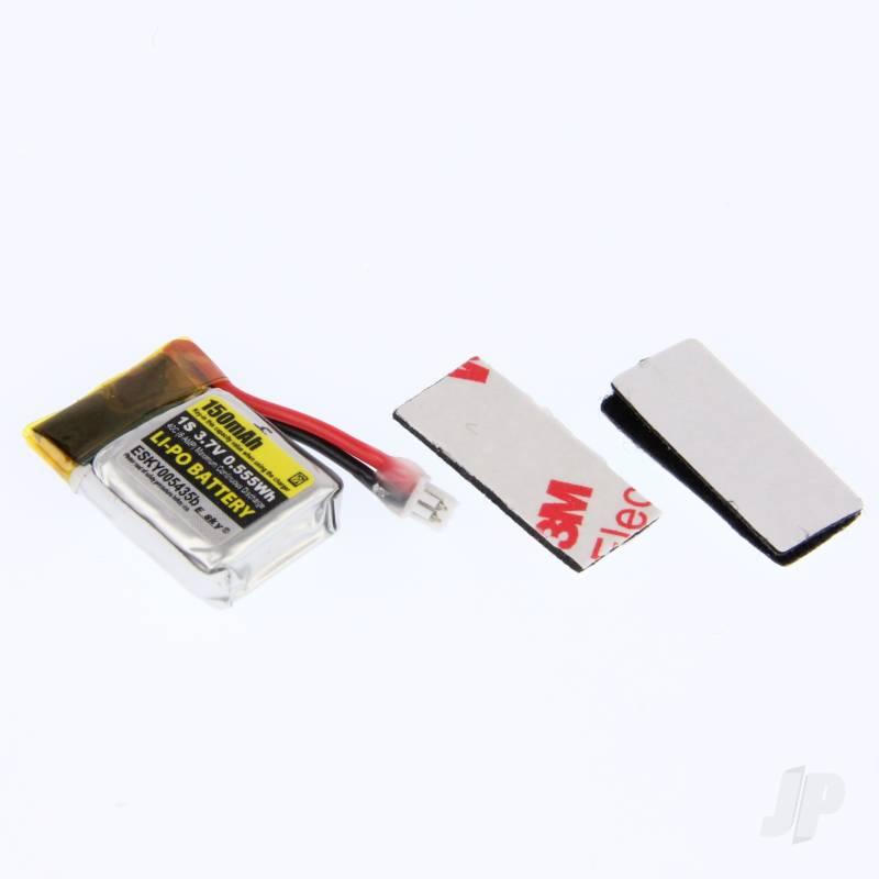 LiPo 1S 150mAh 3.7V 40C Battery UMX (for Sport 150)