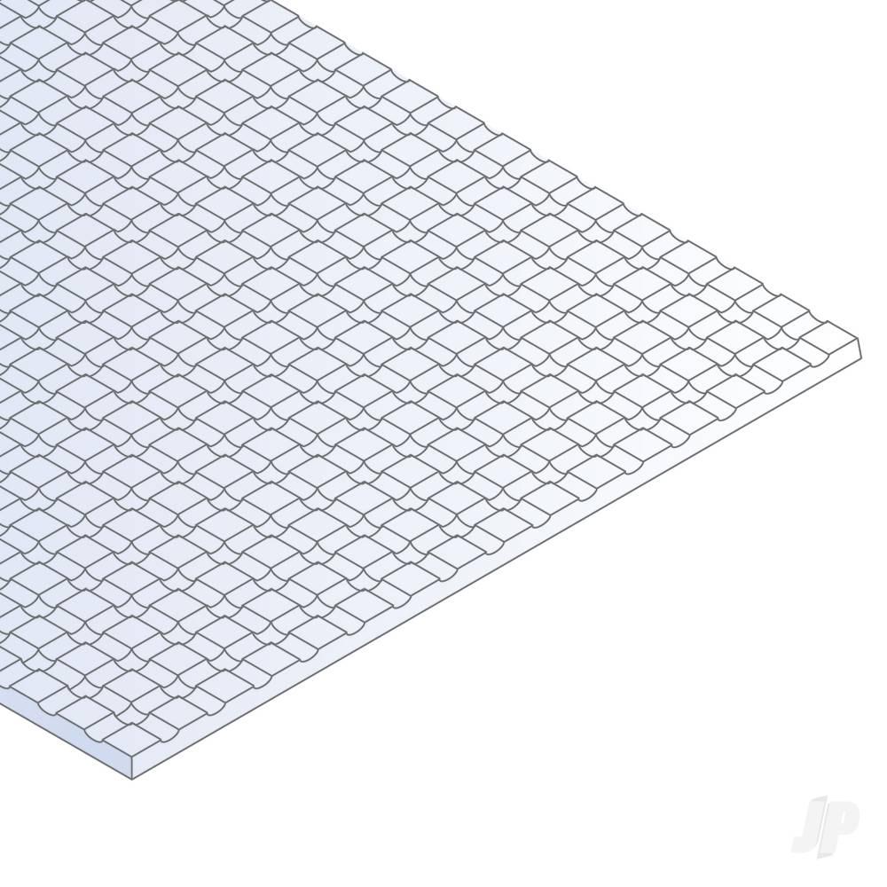 12x24in (30x60cm) Sidewalk Sheet .040in (1.0mm) Thick 1/4x1/4in Spacing (1 Sheet per pack)