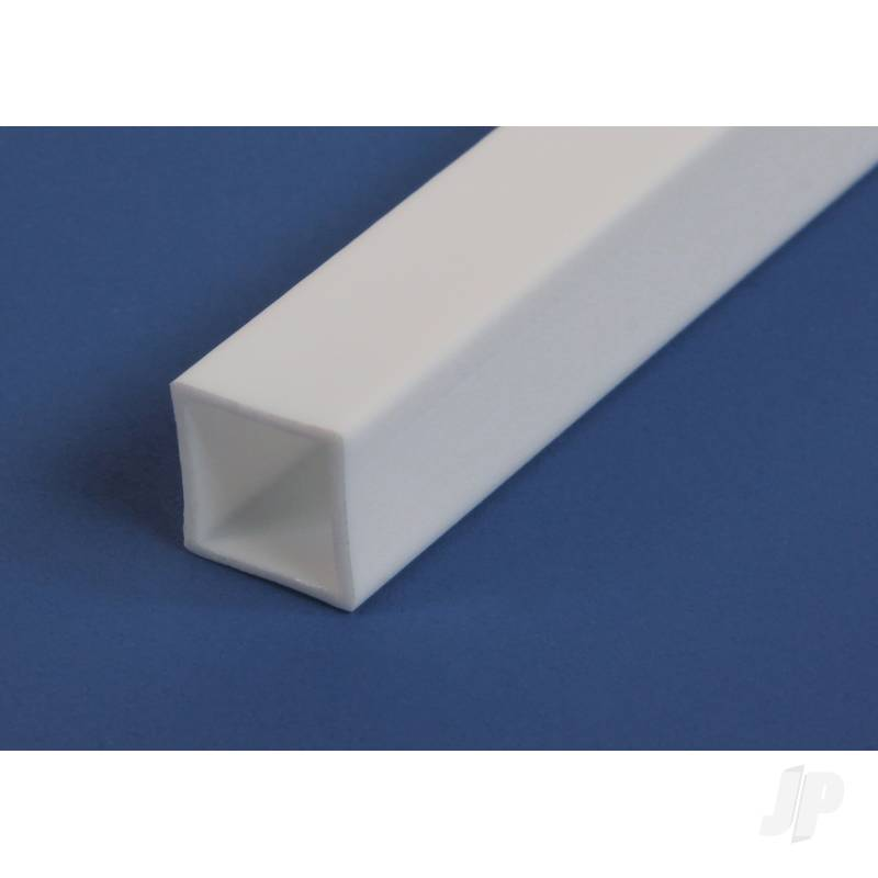 14in (35cm) Square Tube .125in (1/8in) (3 per pack)