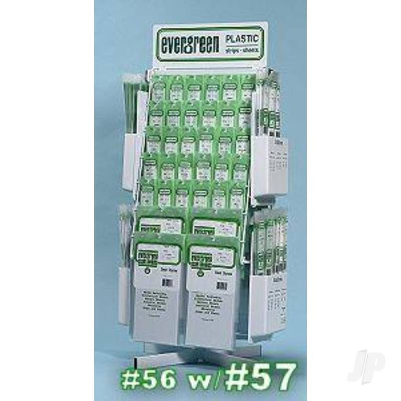 Optional Add-on Pockets and Product Assortment for #56 counter rack
