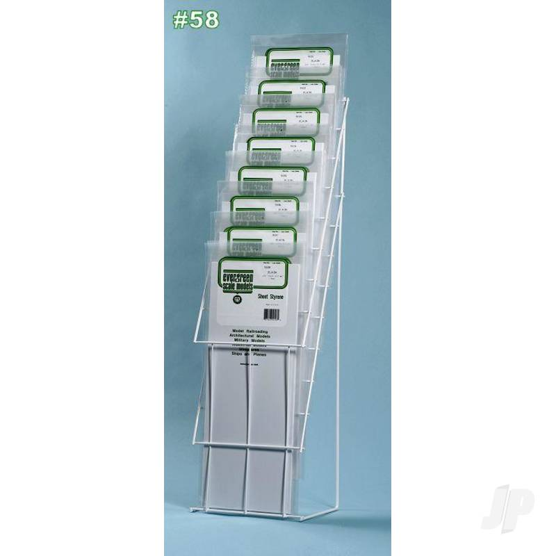 Economy 21in Long Sheet Assortment with Display Rack