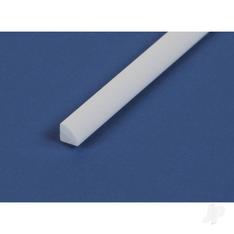 14in (35cm) Quarter Round Strip .040in (100 per pack)