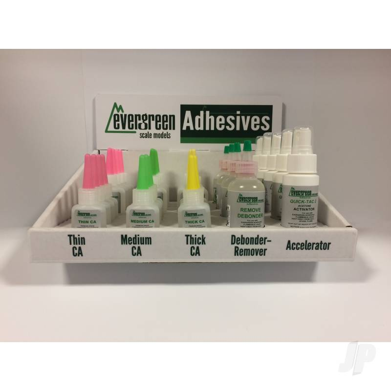 CA Adhesive Dealer Assortment (33 Bottles)