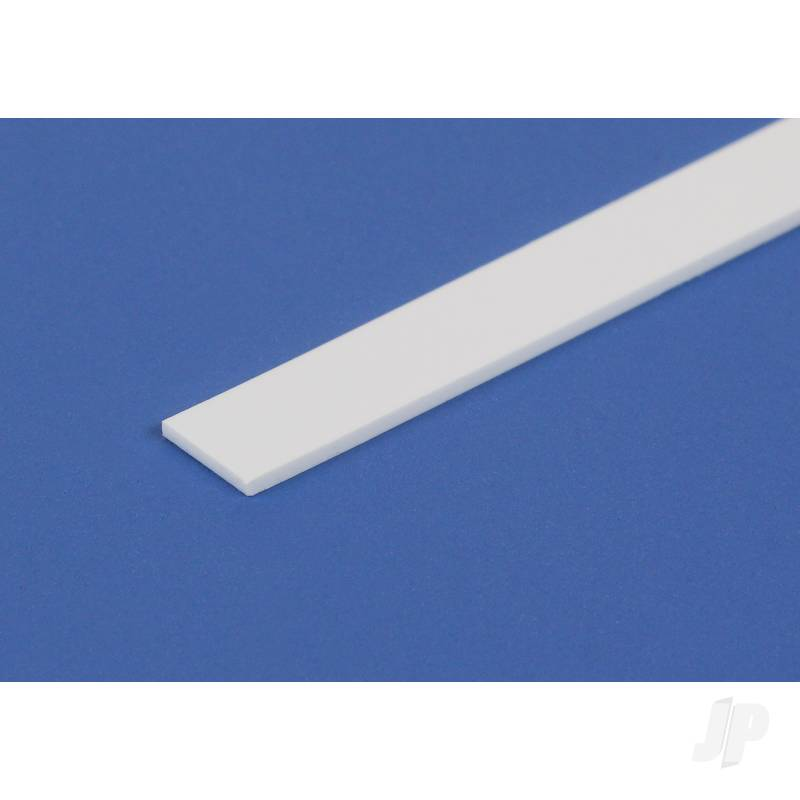 14in (35cm) HO-Scale Strip .011x.043in (1x4) (10 per pack)
