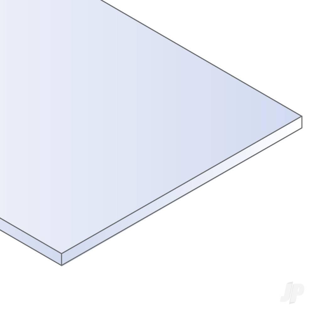 8x21in (20x53cm) Black Sheet .060in Thick (2 Sheet per pack)