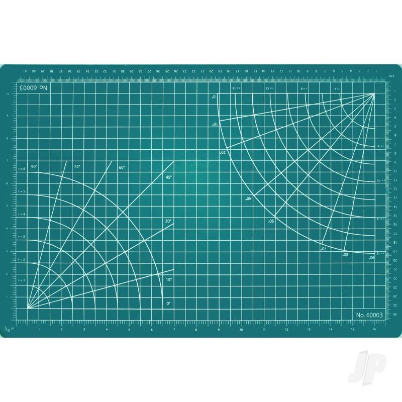 12x8.5in Self-Healing Cutting Mat, Green (Bulk)