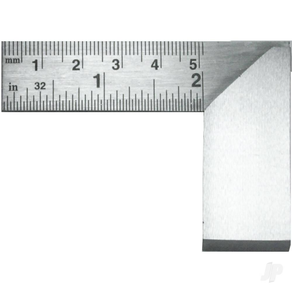 2in (5.08cm) Precision Carbon Steel Machine Square (Bulk)