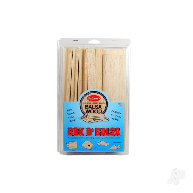 Box O'Balsa, Small (random sizes, 1 lb box)