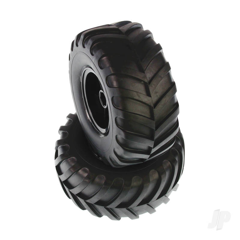 6598P100A MT Wheels Complete (Volcano) (2pcs)