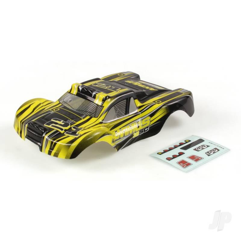 Body, Black-Yellow (Animus 18SC)