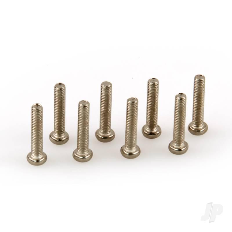Button Head Philips Screws (BHPS), M3x15mm