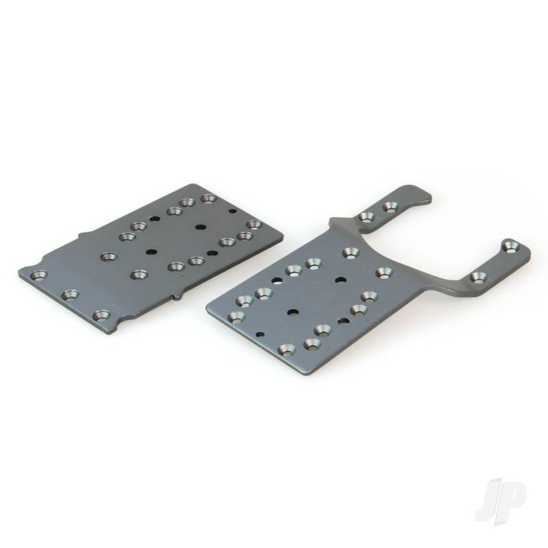Chassis Plates, Front and Rear (Dominus 10SC V2, Invictus)