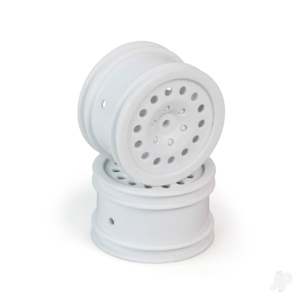 Wheel, Rear, White, (2pcs) (Criterion)