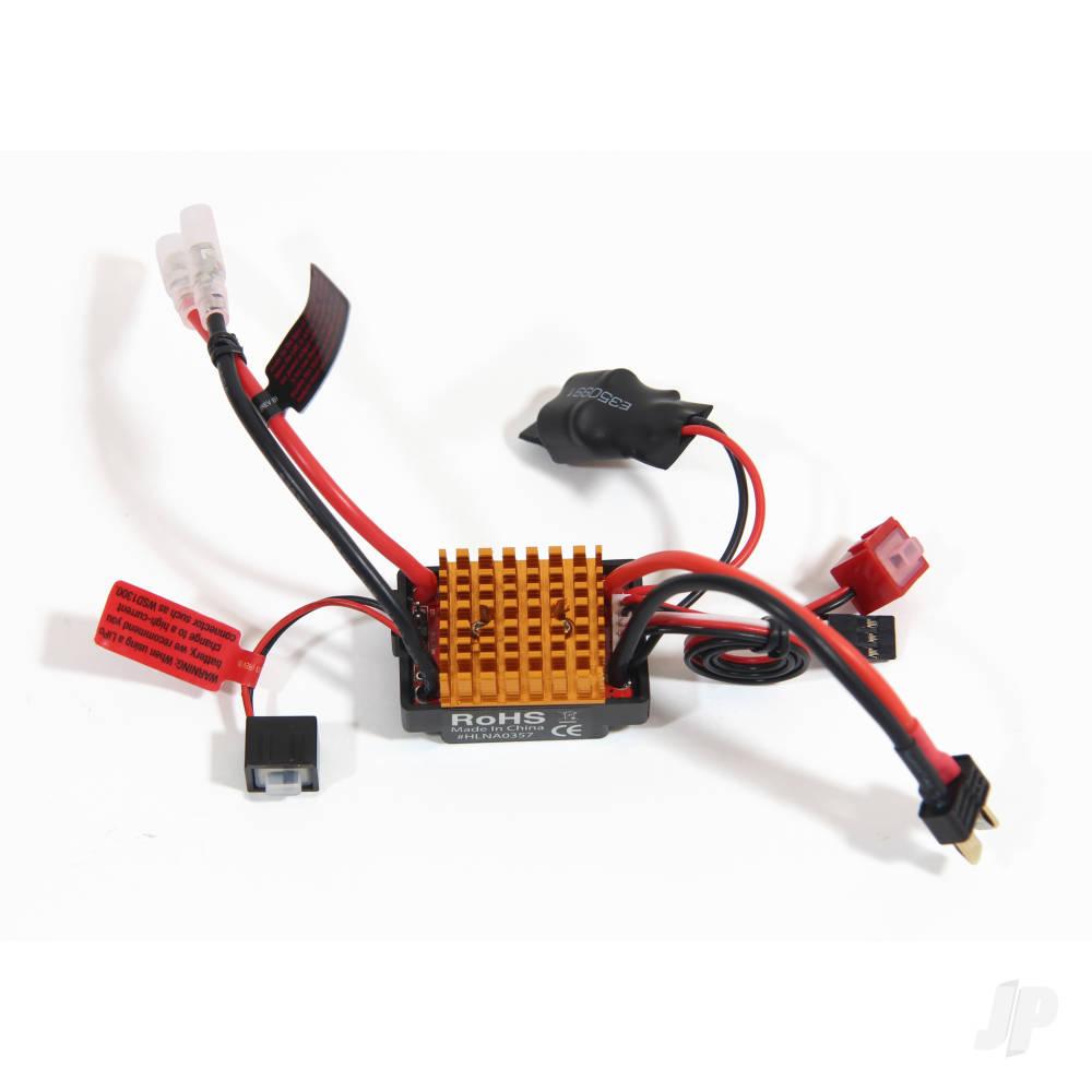 Metric 30A Waterproof ESC, Reverse-LiPo, 2WD, HCT