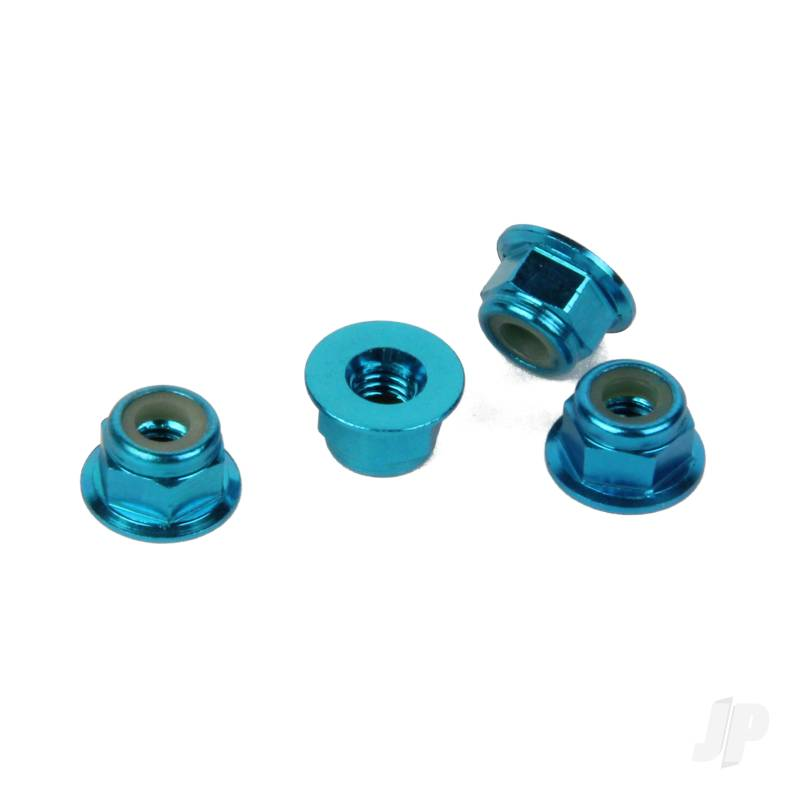 Machine Serrated Axle Nuts (Conquest)