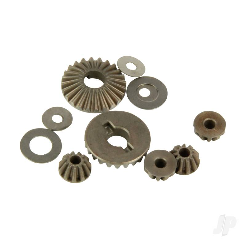 Gear Set and Pins, Internal Differential with Cross-shafts (Four 10SC)