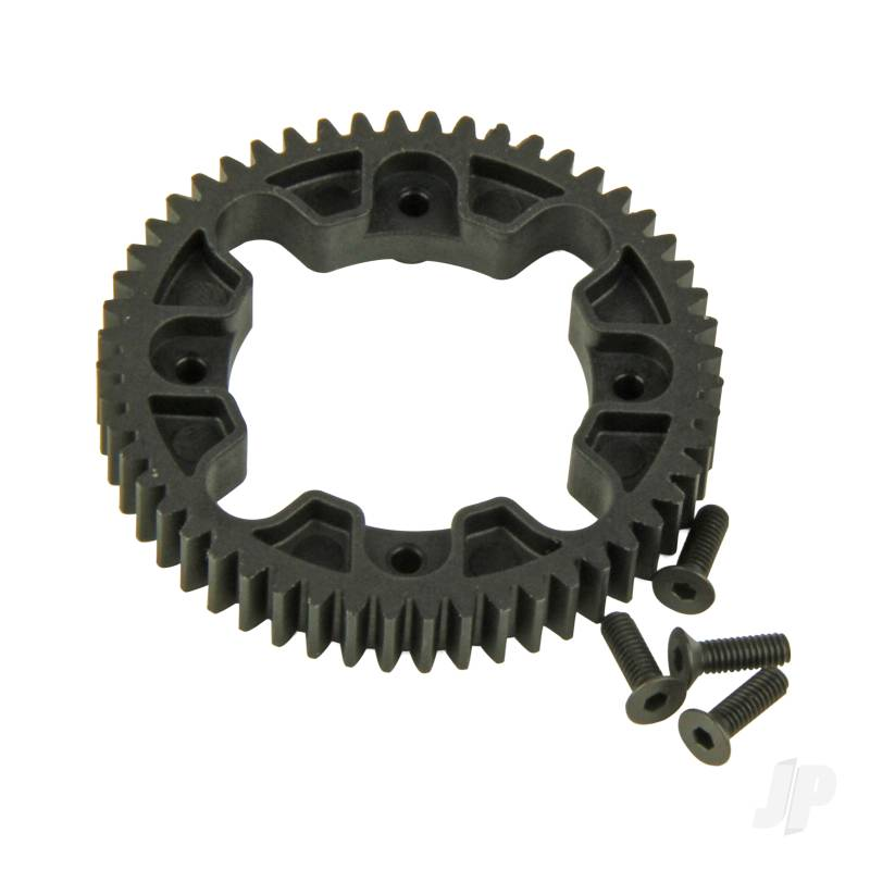 Spur Gear, Center Differential, 32P, 52T (Four 10SC)
