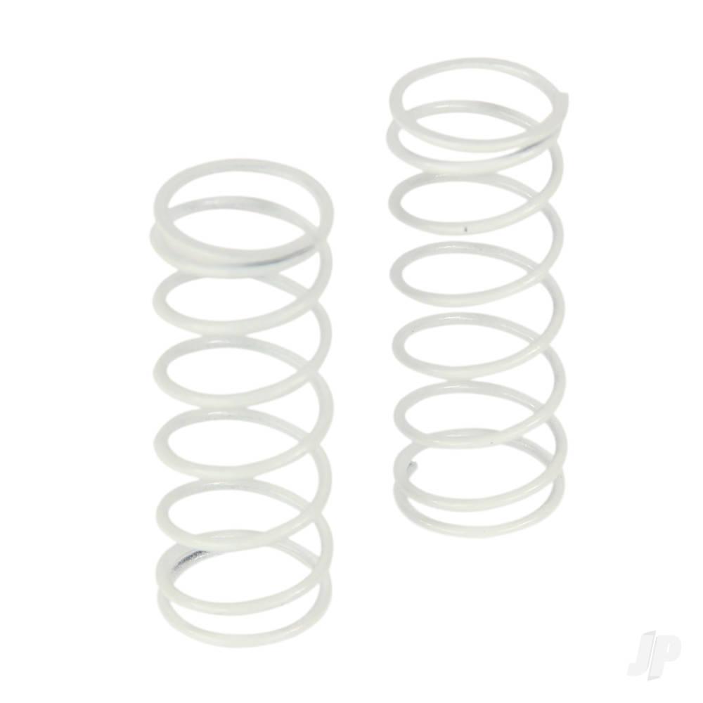 Spring, Shock, Rear, Standard White (Four 10SC)