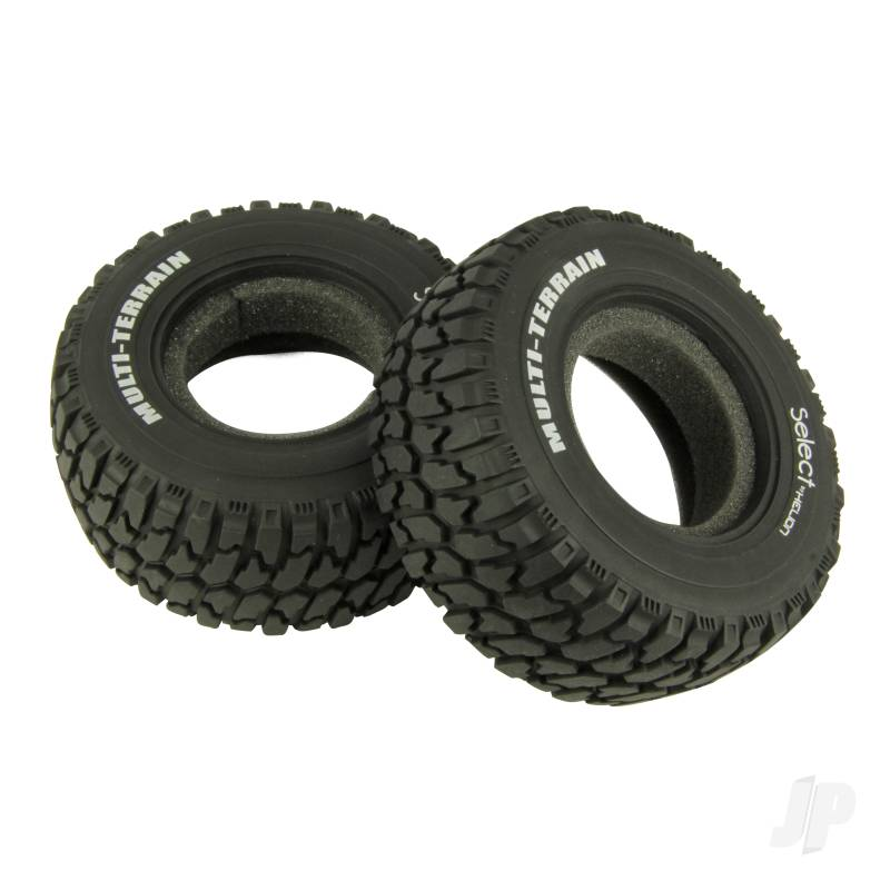 Tires with Foam Inserts (Four 10SC)