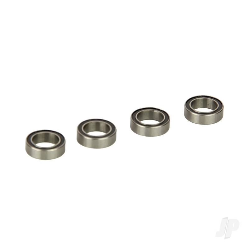 Ball Bearings, Rubber Sealed 8x12x3.5mm ( (4pcs) (Four 10SC)