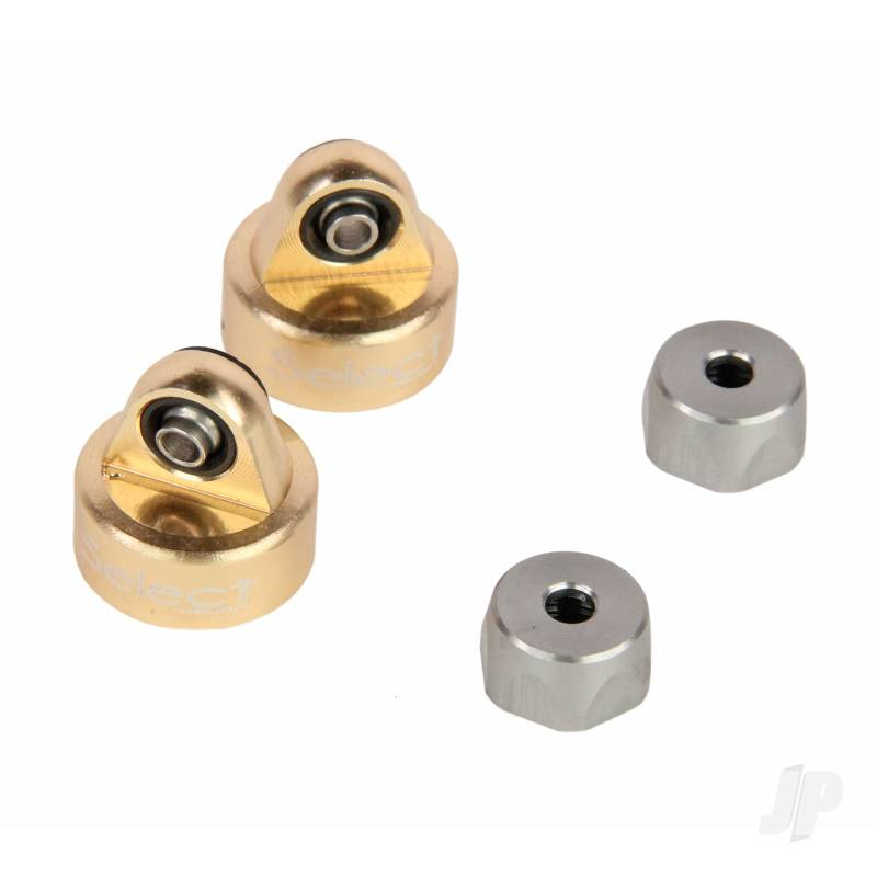 Shock Cap, Front and Rear, 13mm (Four 10TR)