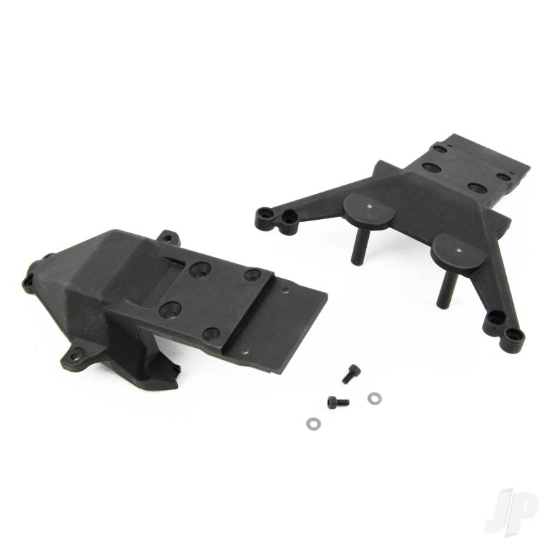 Skidplate Set Front/Rear (Avenge)