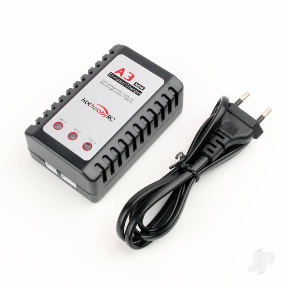 2S / 3S Balance Charger & EU Plug AC Power Cable