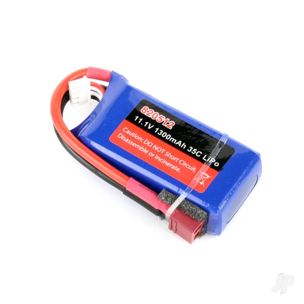 LiPo 3S 1300mAh 11.1V 35C Battery Pack