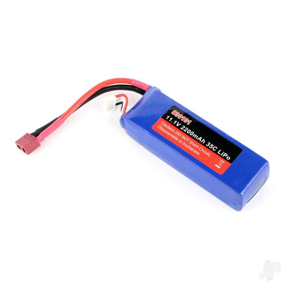 LiPo 3S 2200mAh 11.1V 35C Battery Pack