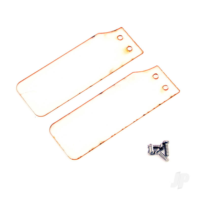 Rescue Rudder PVC Plate with Screws (2pcs)