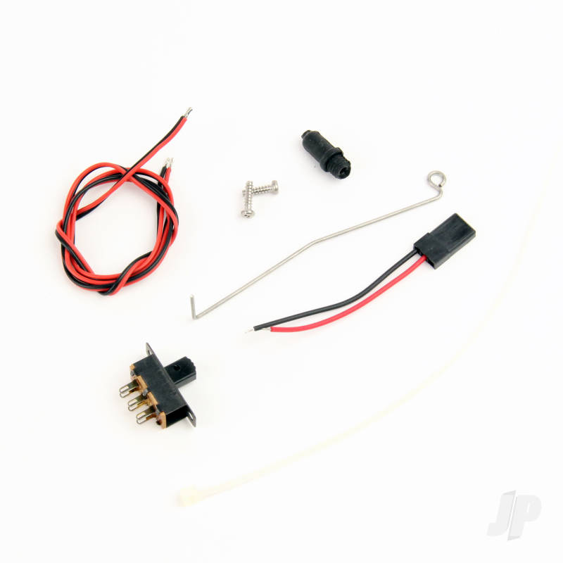 Power Switch Rod with Rubber Bellow & Switch Connector Set