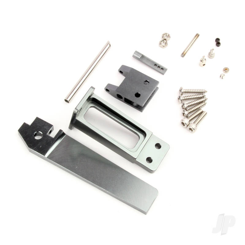 CNC Aluminium Alloy Rudder & Support Set (Upgrade Metal Part)