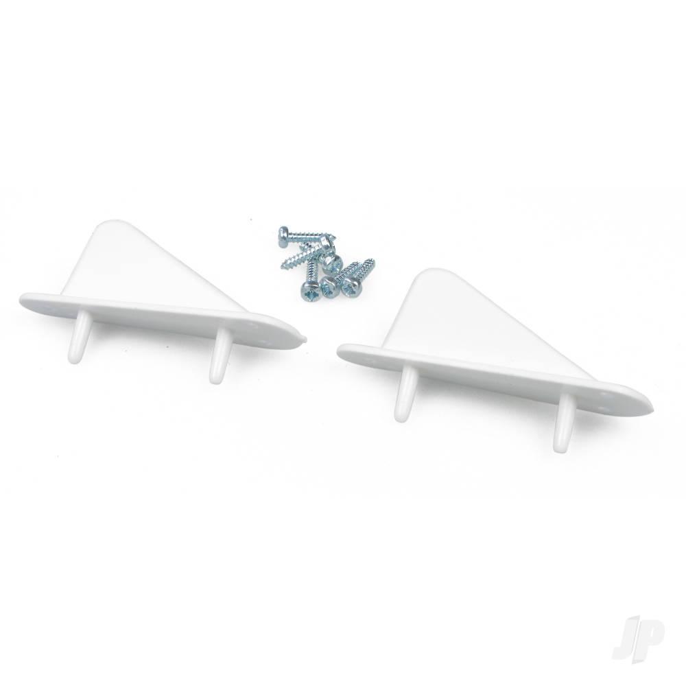 Tail Skid With Screws (2pcs)