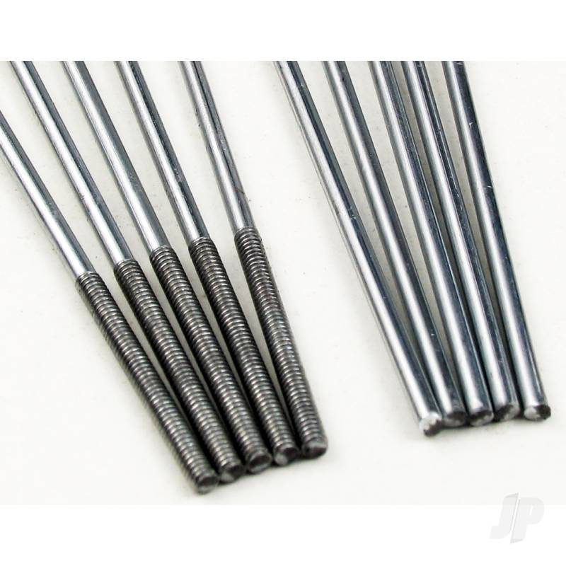8.0in M2 Threaded Control Rod (Pushrod) (10pcs)