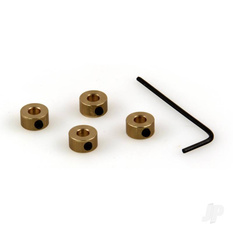 8 SWG Wheel Collets (4mm) (4pcs)