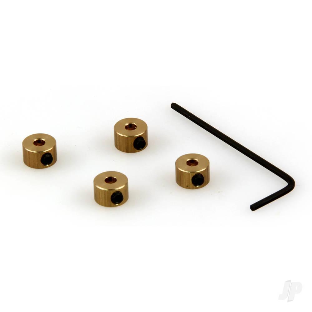 12 SWG Wheel Collets (2.5mm) (4pcs)