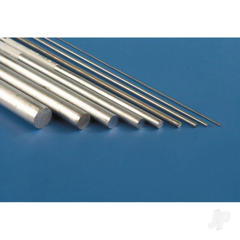 1/16x12in Solid Aluminium Rod (3pcs)