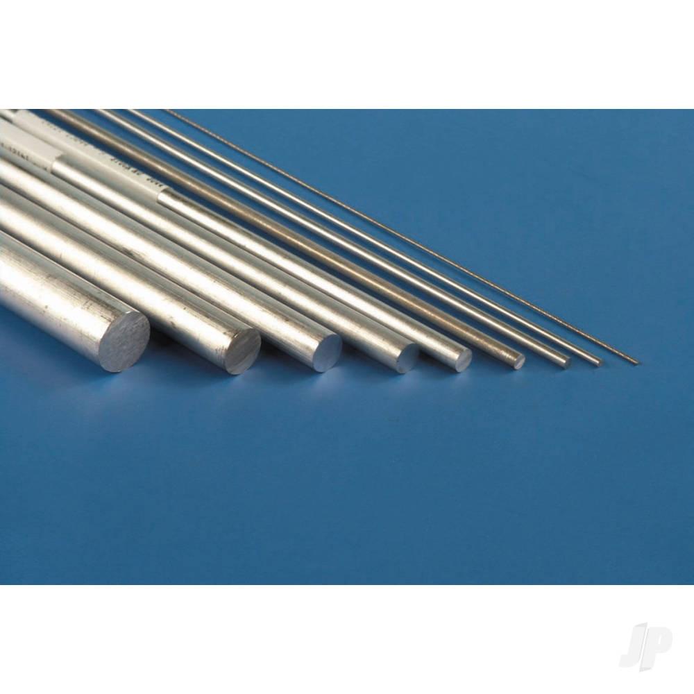 3/8x12in Solid Aluminium Rod