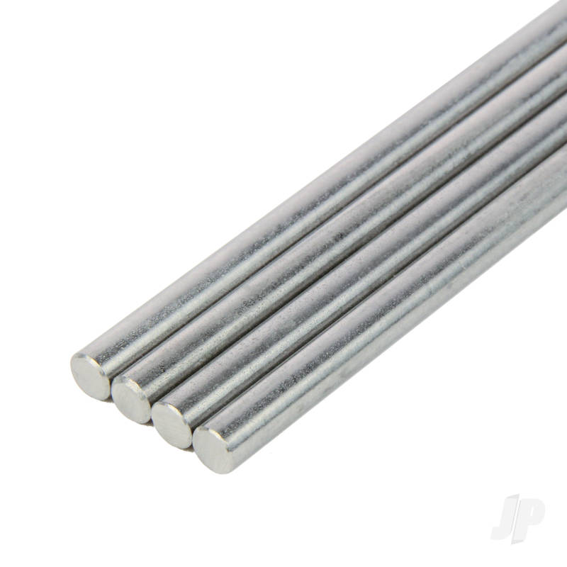 3/32x12in Round Stainless Steel Rod (2pcs)