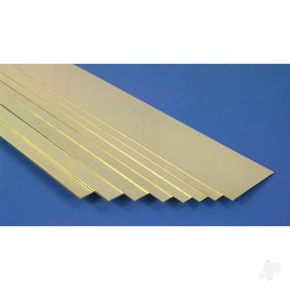 1x6x300mm Brass Strip (3pcs)