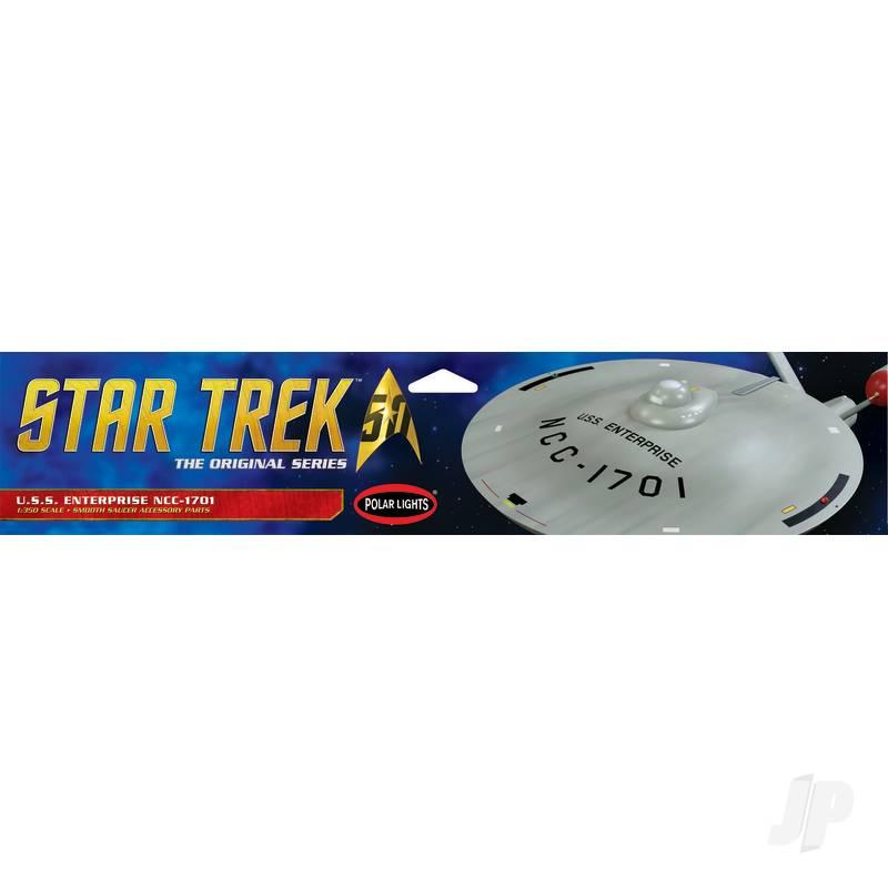 1:35 Star Trek TOS U.S.S. Enterprise Smooth Saucer