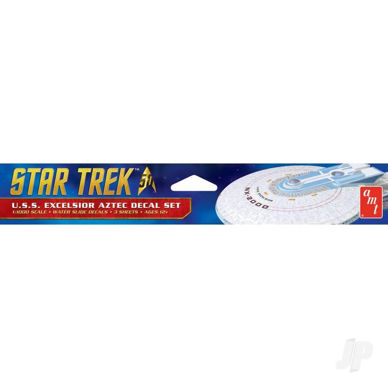 1:1000 Star Trek U.S.S. Excelsior Aztec Decal Set