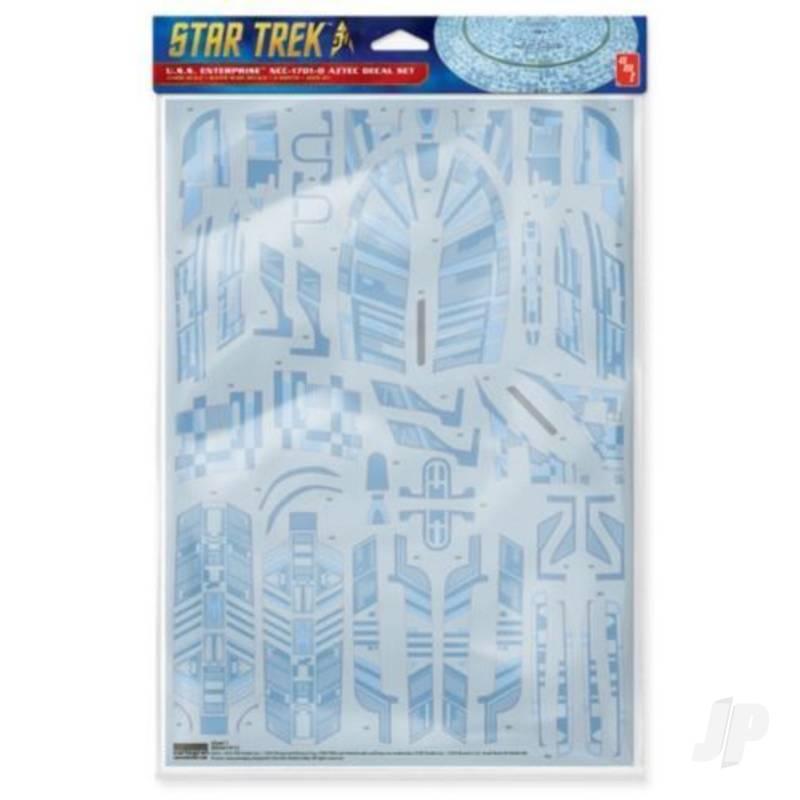 1:2500 Star Trek U.S.S. Enterprise 1701-D Aztec Decals