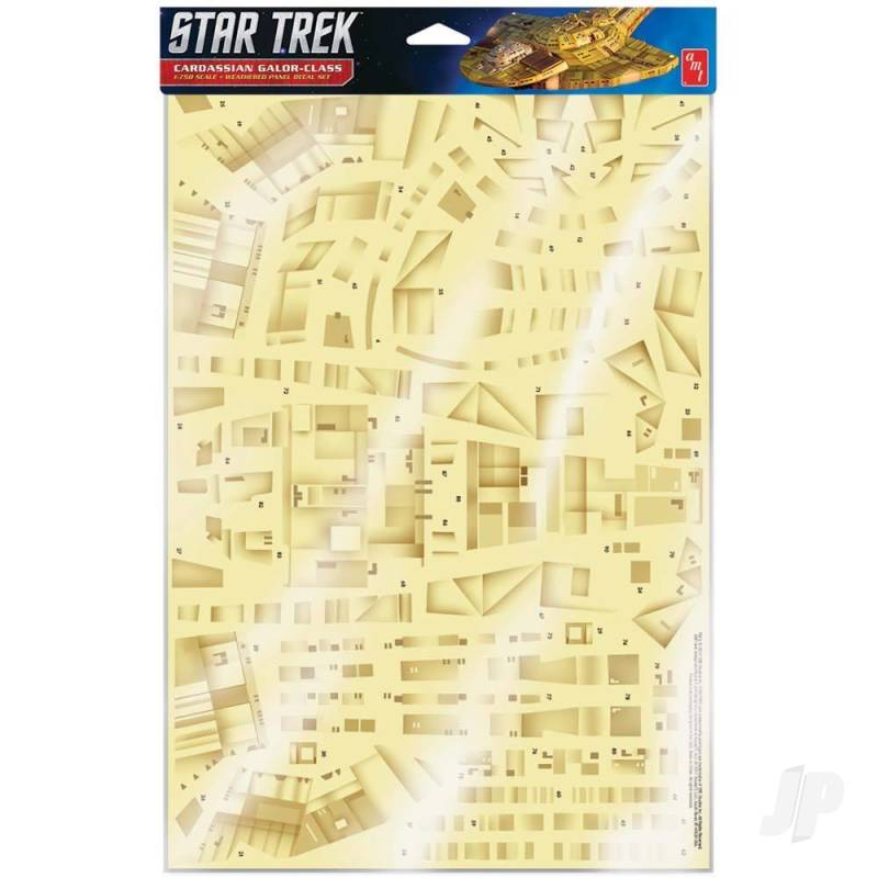 Star Trek: Deep Space Nine: Cardassian Paneling Decals (Upgrades to kit AMT1028)