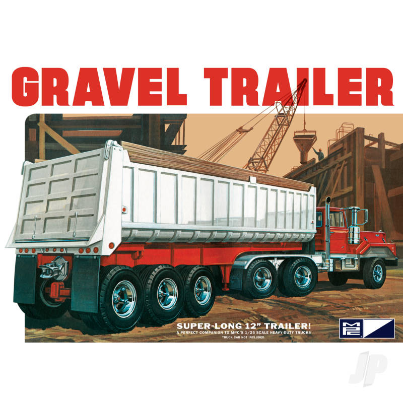 1:25 3 Axle Gravel Trailer