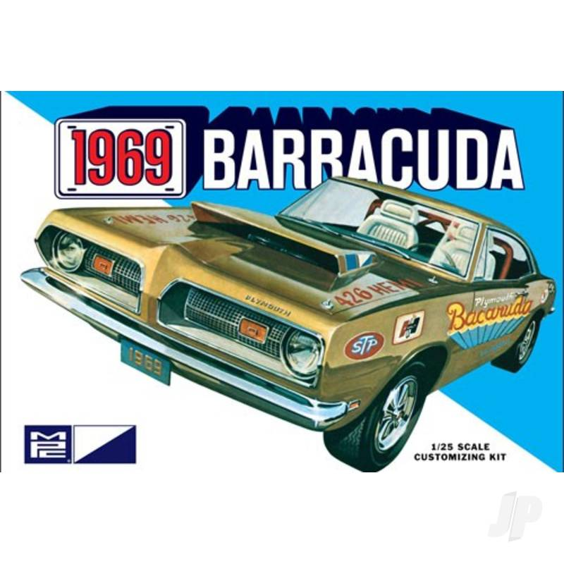 1:25 1969 Plymouth Barracuda