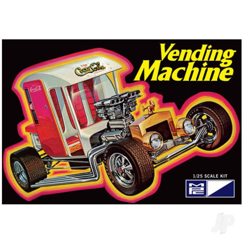 1:25 Coca-Cola Vending Machine Show Rod